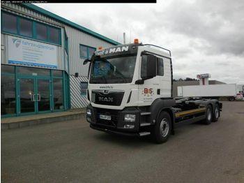 Hook lift truck MAN TGS 26.500 6x2-2 BL Meiller RS 21.70