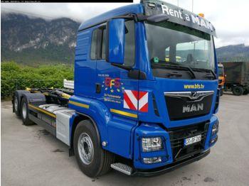 Hook lift truck MAN TGS 26.500 6x2-4 BL Palfinger T 20-31 MPA