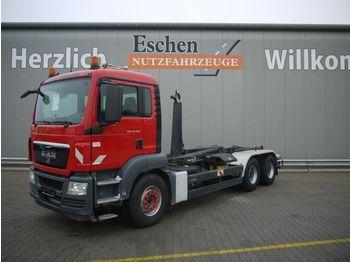 Hook lift truck MAN TGS 33.360 BB6x4, Meiller RK20.65, Manuell,Klima