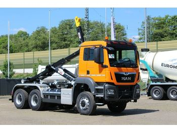 Hook lift truck MAN TGS 33.430 6x4 / Abrollkipper Hyva