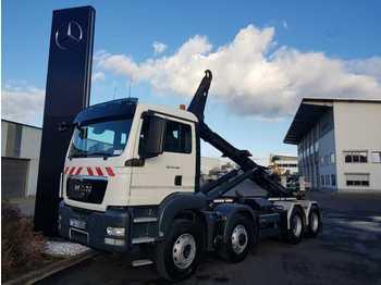 Hook lift truck MAN TGS 35.400 8x6 Hydro-Drive Meiller 30 65 TSK