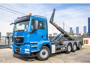 Hook lift truck MAN TGS 35.400 BL 8X4-4 TRIDEM