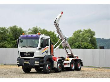 Hook lift truck MAN TGS 35.440 Abrollkipper 5,20m *8x4* Top Zustand!