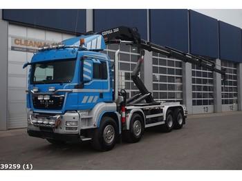 Hook lift truck MAN TGS 35.440 BB 8x4 Copma 36 ton/meter laadkraan (Bouwjaar 2015)