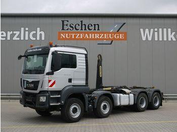 Hook lift truck MAN TGS 35.440 BL,EURO6,8x4, Palfinger  Abrollkipper