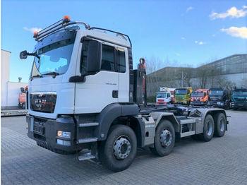 Hook lift truck MAN TGS 35.480 8x4 Abrollkipper HIAB XR26Z59