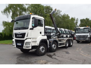 Hook lift truck MAN TGS 35.500