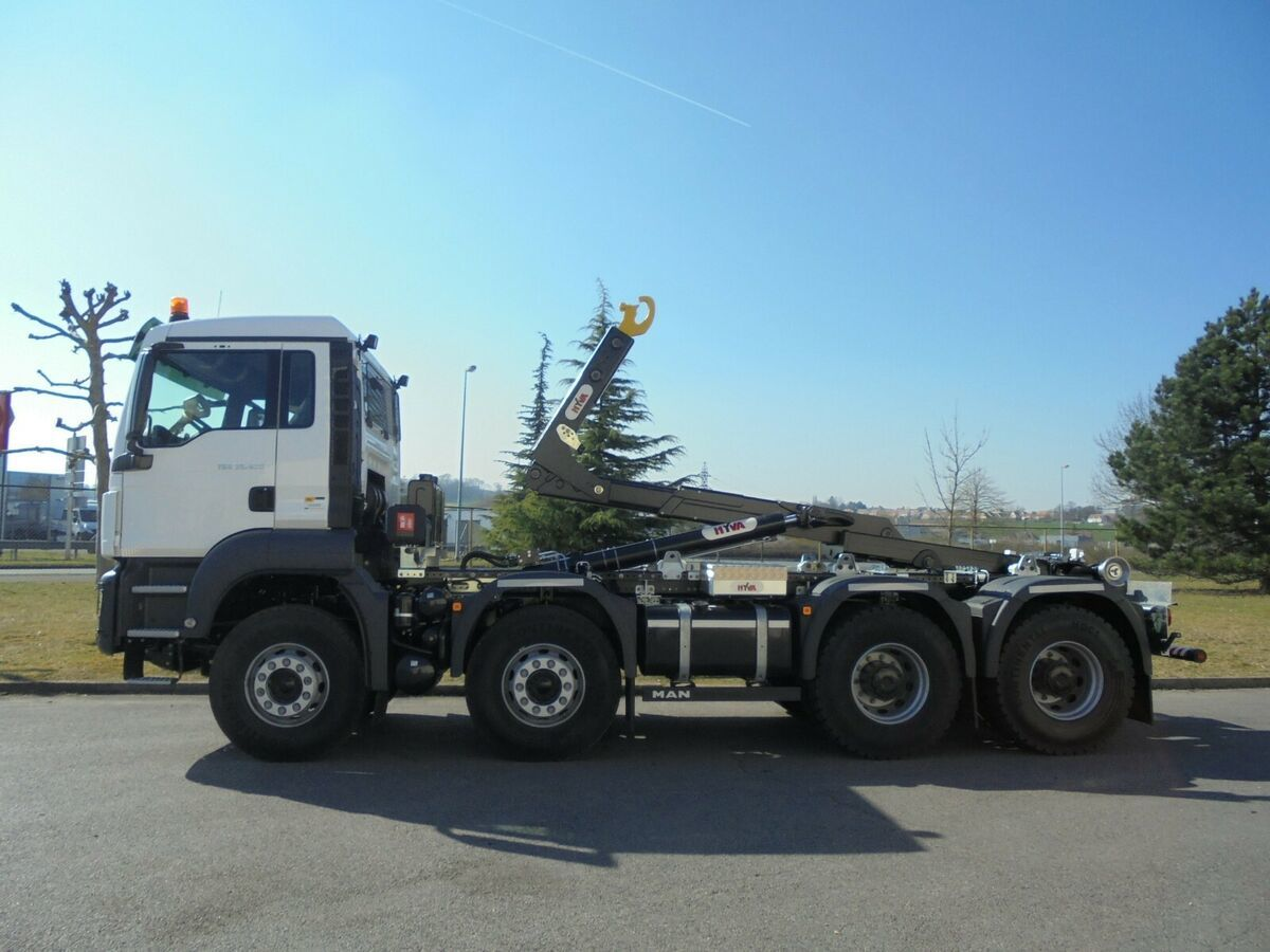 hook lift truck MAN TGS 41.430 8x4 /