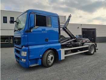 Hook lift truck MAN TGX 18.360 Container Euro5