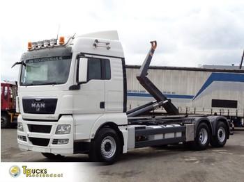 Hook lift truck MAN TGX 18.480 Manual + HOOK system + Euro 5