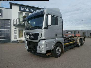 Hook lift truck MAN TGX 26.480 6x2-2 LL