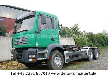 Hook lift truck MAN TG 410 A 6x4 - Bastler / Export
