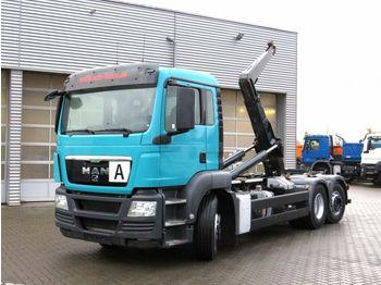 Hook lift truck MAN TG-S 26.440 6x2-2 BL Abrollkipper Gergen GRK 21/