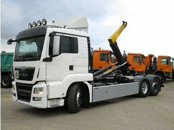 Hook lift truck MAN TG-S 26.440 6x2-4 BL Abrollkipper Lift+Lenk, hyd