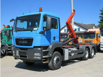 Hook lift truck MAN TG-S 26.440 6x4 Abrollkipper Deutsch, Hiab, Topz