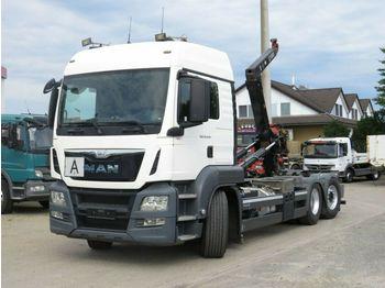 Hook lift truck MAN TG-S 26.440 BL 6x2 Abrollkipper Lift+Lenkachse