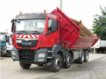 Hook lift truck MAN TG-S 35.480 8x4 BB 4-Achs Kipper Meiller