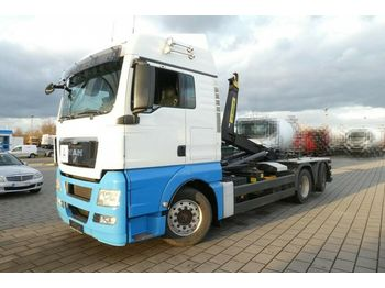 Hook lift truck MAN TG-X 26.440 6x2 Abrollkipper Lenk/Lift