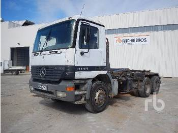 Hook lift truck MERCEDES-BENZ 2640 6x4