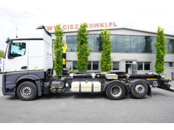 Hook lift truck MERCEDES-BENZ Actros 2548