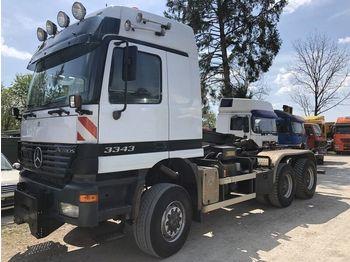 Hook lift truck MERCEDES-BENZ Actros 3343