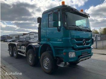 Hook lift truck MERCEDES-BENZ Actros 4146 8x8