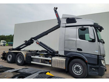 Hook lift truck MERCEDES-BENZ Actross 2551 6x2