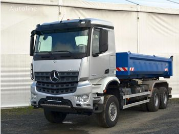 Hook lift truck MERCEDES-BENZ Arocs 3340A 6x6 Palfinger