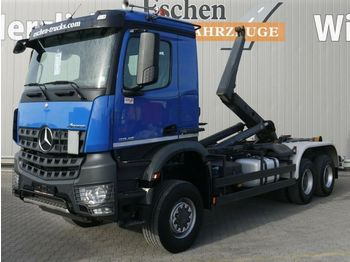 Hook lift truck MERCEDES-BENZ Arocs 3348 BB 6x6