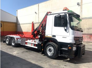 Hook lift truck MERCEDES-BENZ actros 2541