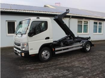Hook lift truck MITSUBISHI Canter FUSO 7C18 City Aut., Abrollkipper Miete