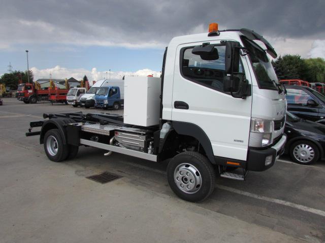Hook lift truck MITSUBISHI Fuso Canter 6C18 4x4 - Truck1 ID: 1213500