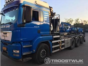 Hook lift truck Man Tgs 35.480 8x4-4 bl TGS 4 achser N3 LKW