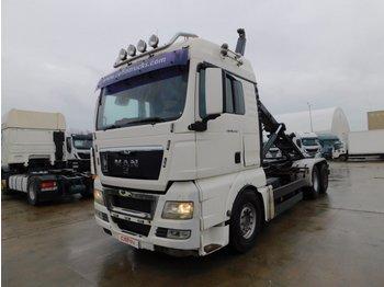Hook lift truck Man Tgx 26480