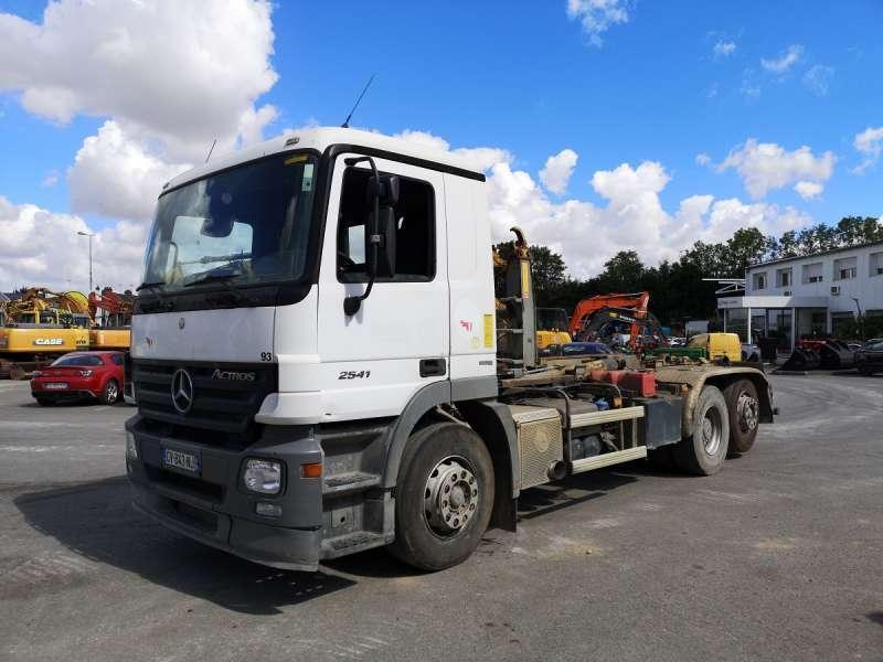 hook lift truck Mercedes ACTROS 2541