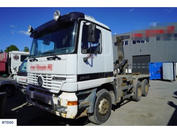 Hook lift truck Mercedes Actros