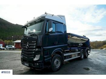 Hook lift truck Mercedes Actros