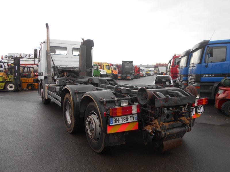 hook lift truck Mercedes Actros 2531