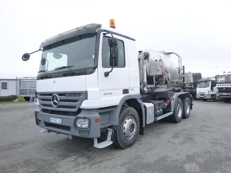 hook lift truck Mercedes Actros 3332