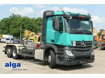Hook lift truck Mercedes-Benz 2445 L Actros/Meiller RK20.65/Retarder/AHK