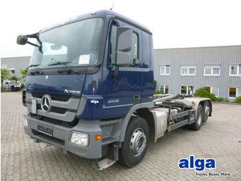 Hook lift truck Mercedes-Benz 2536 L Actros/6x2/Meiller PK 20.67/Luft/Lift/AHK