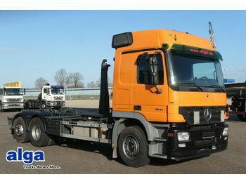 Mercedes-Benz 2541 6x2 Actros, Euro 3, Palfinger T20, AHK, TOP  - hook lift truck