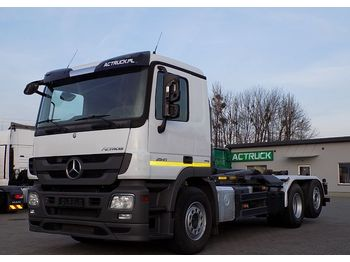 Mercedes-Benz 2541 MEILLER - hook lift truck