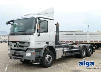 Hook lift truck Mercedes-Benz 2636 L Actros 6x2, Meiller RK20.67, Lenk-Lift