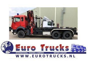 Hook lift truck Mercedes-Benz 2638 6x4 SK only 43000 km original..