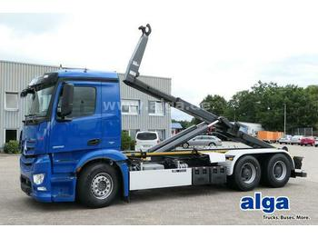 Hook lift truck Mercedes-Benz 2658 L Antos 6x4, VDL S21-6200, Retarder, Klima