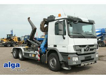 Hook lift truck Mercedes-Benz 2841 L Actros/Kran/Klima/AHK