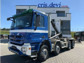 Hook lift truck Mercedes-Benz 3244 8x4 Mobas VDL Hakengerät   Retarder Euro 5