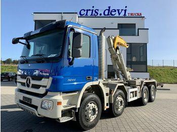 Hook lift truck Mercedes-Benz 3244 8x4 Moser Hakengerät | Retarder Euro 5