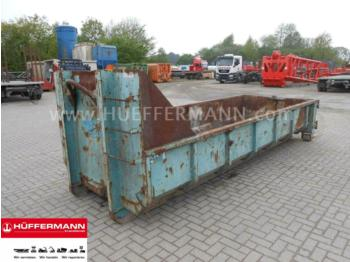 Hook lift truck Mercedes-Benz 6cbm Abrollcontainer DFT schmal: picture 1